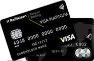 MasterCard World Black Edition Premium/ Visa Platinum Premium