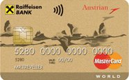Austrian Airlines - ��������������  MasterCard World